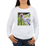 Lavender flower ball Women's Long Sleeve T-Shirt