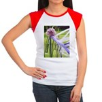 Lavender flower ball Women's Cap Sleeve T-Shirt