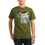 Lavender flower ball Organic Men's T-Shirt (dark)