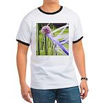 Lavender flower ball Ringer T