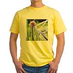 Lavender flower ball Yellow T-Shirt