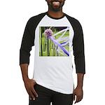 Lavender flower ball Baseball Jersey