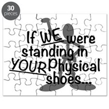 Physical Shoes Puzzle