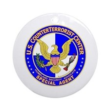 CTC: US CounterTerrorist Ornament (Round)