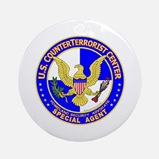 CTC: US CounterTerrorist Ornament (Round)