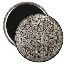 Aztec Calendar Magnet