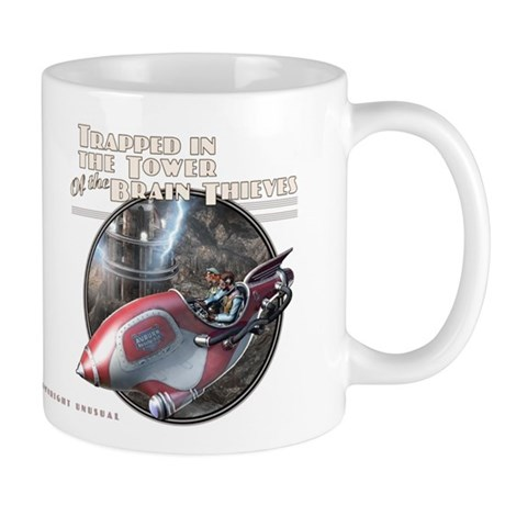 Thrilling Tales: Doctor Rognvald's Tower Mug