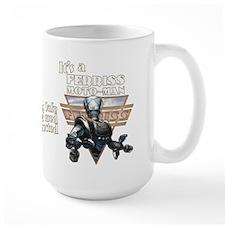 It's a Ferriss Moto-Man Retro Robot Mug 15oz