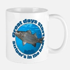 Great days start with stripers Mug