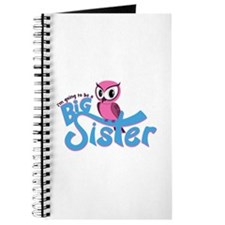 Girly Going to be a Big Sister Journal
