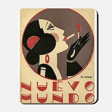 Nuevo Mundo, Spanish, Smoking, Vintage Poster Mous