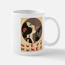 Nuevo Mundo, Spanish, Smoking, Vintage Poster Mug