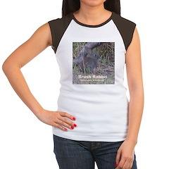 Brush Rabbit Women's Cap Sleeve T-Shirt