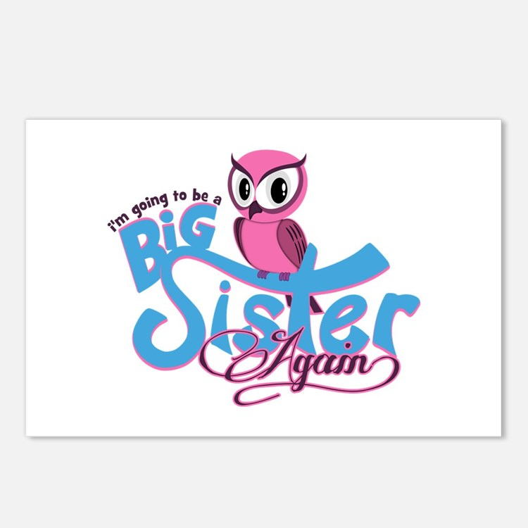 Going to be a Big Sister Again! Postcards (Package