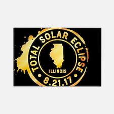 Eclipse Illinois Rectangle Magnet