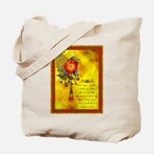 Inspirational India Tote Bag