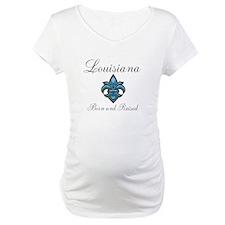 Louisiana Born and Raised Shirt