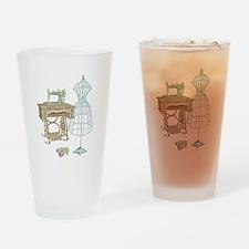 Dressmaker Drinking Glass