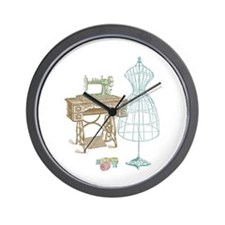 Dressmaker Wall Clock