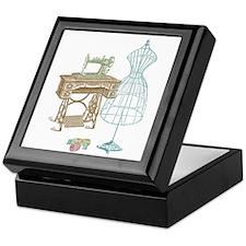 Dressmaker Keepsake Box