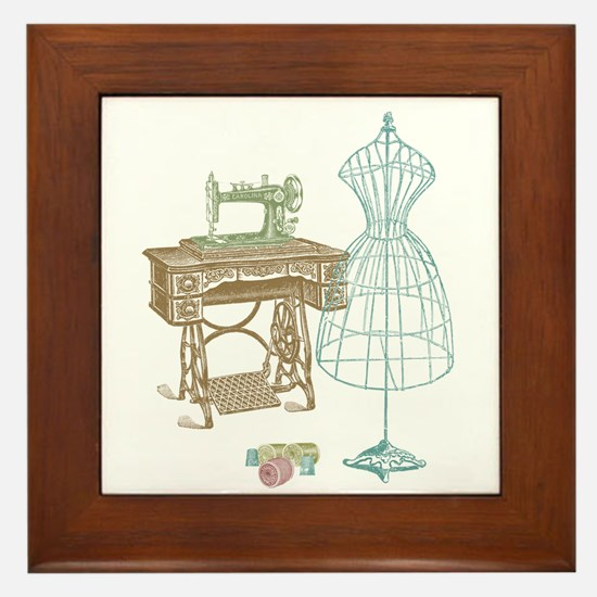 Dressmaker Framed Tile