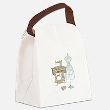 Dressmaker Canvas Lunch Bag