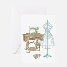 Dressmaker Greeting Card