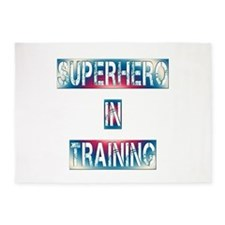 Superhero in Training 5'x7'Area Rug