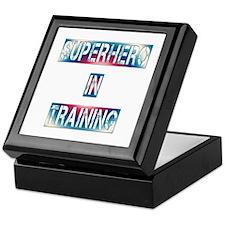 Superhero in Training Keepsake Box