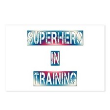 Superhero in Training Postcards (Package of 8)
