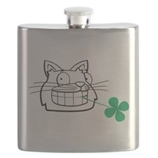 Irish cat Flask