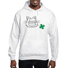 Irish cat Hoodie