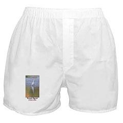 Great Egret Boxer Shorts