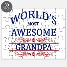 World's Most Awesome Grandpa Puzzle