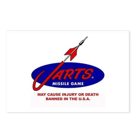 Jarts & Lawn Darts Postcards (Package of 8)