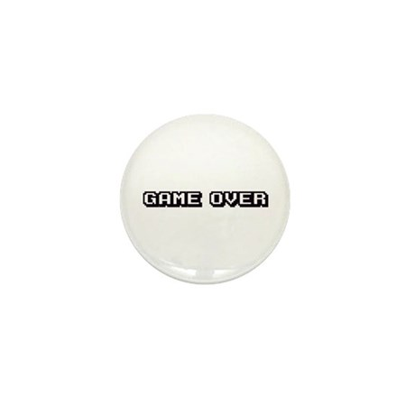 GAME OVER Mini Button (10 pack)