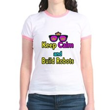 Crown Sunglasses Keep Calm And Build Robots T