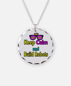 Crown Sunglasses Keep Calm And Build Robots Neckla