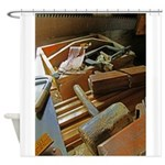 carpenter tools 2.png Shower Curtain