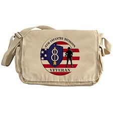 8th Infantry Division Messenger Bag