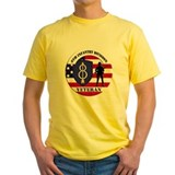 Army divisions Mens Yellow T-shirts