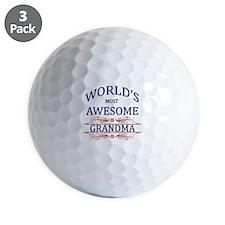 World's Most Awesome Grandma Golf Ball