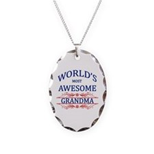 World's Most Awesome Grandma Necklace