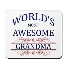 World's Most Awesome Grandma Mousepad