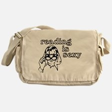 Reading is Sexy Messenger Bag