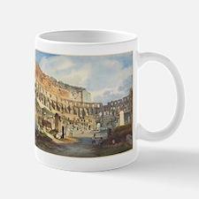 Ippolito Caffi - Interior of the Colosseum Mug