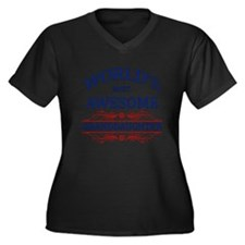 World's Most Awesome Granddaughter Women's Plus Si