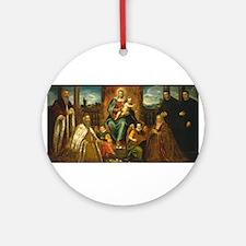 Jacopo Tintoretto - Doge Alvise Mocenigo and Fami