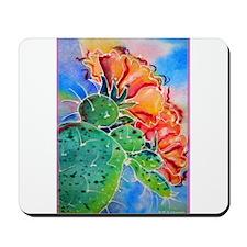 Cactus! Colorful southwest art! Mousepad