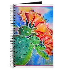 Cactus! Colorful southwest art! Journal